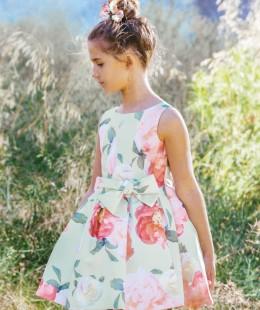 فستان بنات صناعه اسبانيه