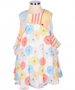Girl Dress By Byblos Made In Italy