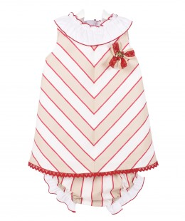 Girl Dress Set By Dolce Petit