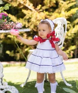 Baby Girl Dress Set By Dolce Petit