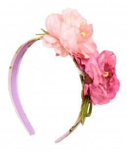 Girl Flower Hairband Made In Spain