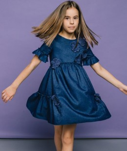 Girl Dress By T-Love Made In Italy