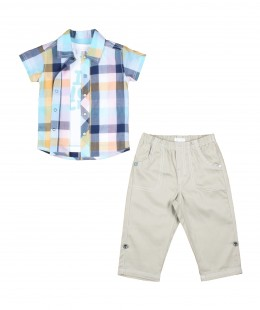 Baby Boys Set 3 Pieces By Absorba France