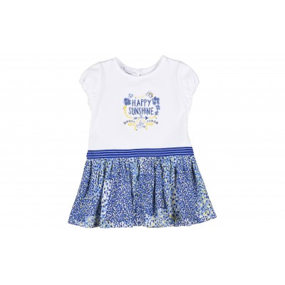 Baby Girl Dress By Absorba France ( To know available model sizes and request please contact us whatsApp 00966550520411 )