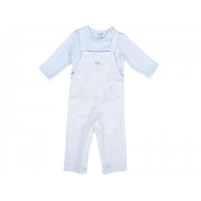 Baby Boys Dungaree Set 2 Pieces By Absorba France ( To know available model sizes and request please contact us whatsApp 00966550520411 )