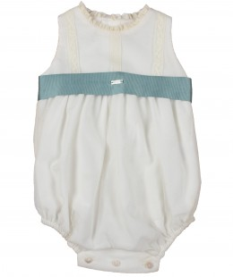 Baby Girl Overall Made In Spain