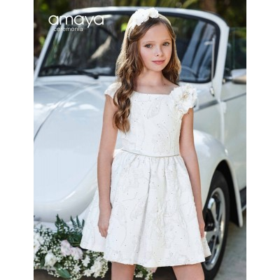 Girl Dress Made In Spain ( To Know Available Model Sizes and Request Please Contact Us WhatsApp 00966550520411 )