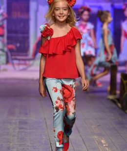 Girl Set 2 Pieces Made In Spain ( To Know Available Model Sizes and Request Please Contact Us WhatsApp 00966550520411 )