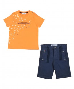 Boys Set 2 Pieces By Lamborghini Made in Italy