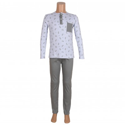 Boys Pajama Set 2 Pieces By Babidu Made In Spain