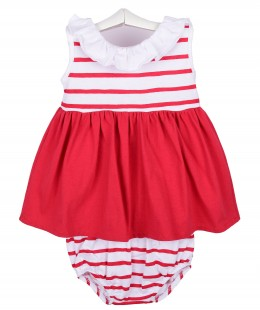فستان موليد بنات ماركة Babidu صناعه اسبانيه