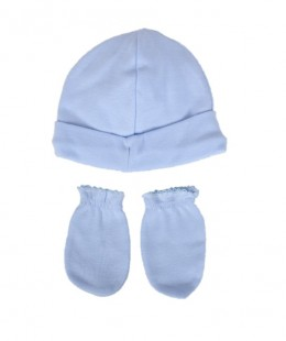 Baby Hat & Gloves Set Made In Spain
