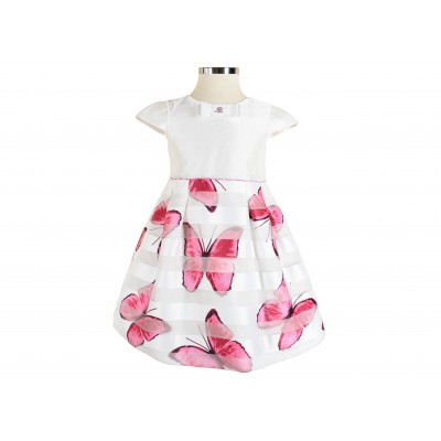 Baby Girl Dress Made In Italy ( To know available model sizes and request please contact us whatsApp 00966550520411 )