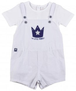 Baby Boys Dungaree Set 2 Pieces By Boboli Spain
