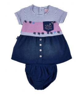 Dress Girl 2 Pieces By Boboli Spain