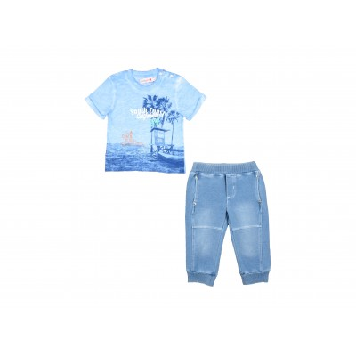 Boys Set 2 Pieces By Boboli Spain ( To know available model sizes and request please contact us whatsApp 00966550520411 )