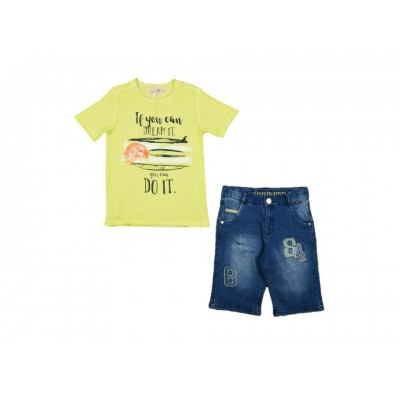 Boys Set 2Pieces by Boboli Spain ( To know available model sizes and request please contact us whatsApp 00966550520411 )
