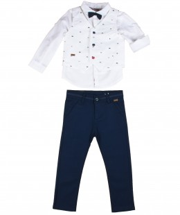 Boys Set 4 Pieces by Boboli Spain ( To know available model sizes and request please contact us whatsApp 00966550520411 )