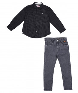 Boys Set 2 Pieces By Boboli Spain
