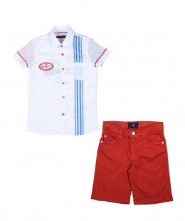Boys Set 3 Pieces By Bugatti Made in Italy