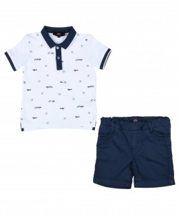 Boys Set 2 Pieces By Bugatti Made in Italy
