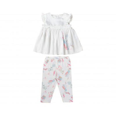 Baby Girl Set 2 Pieces BY Byblos Made In Italy ( To Know Available Model Sizes and Request Please Contact Us WhatsApp 00966502024999 )