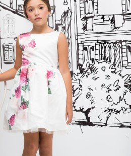 Girl Dress Made In Italy ( To Know Available Model Sizes and Request Please Contact Us WhatsApp 00966502024999 )