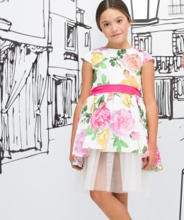 Girl Dress Made In Italy ( To Know Available Model Sizes and Request Please Contact Us WhatsApp 00966550520411 )