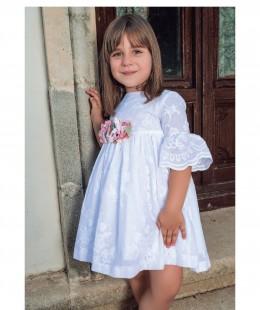 فستان موليد بنات ماركة Candela صناعه اسبانيه