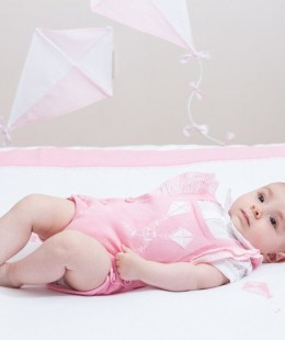 Baby Cotton Blanket Made In Portugal (90cm)