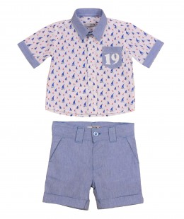 Baby Boys Set By Dr.Kid Made In Portugal