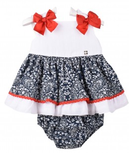 Girl Dress Set By Dolce Petit