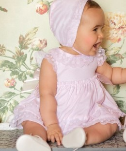 Baby Dress Set 3 Pieces Spanish Brand by Dolce Petit