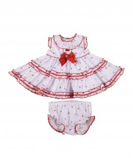 Baby Dress Set 2 Pieces Spanish Brand by Dolce Petit