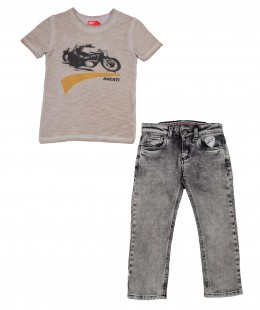 Boys Set 2 Pieces By Ducati Italy