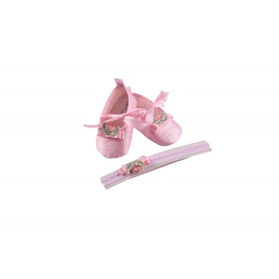 Baby Girl Shoes Set 2 Pieces Made In Turkey