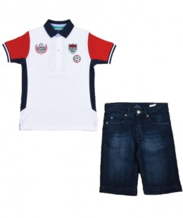 Boys Set 2 Pieces By Harmont & Blaine Made in Italy