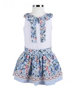 Girl Skirt Set Made In Spain