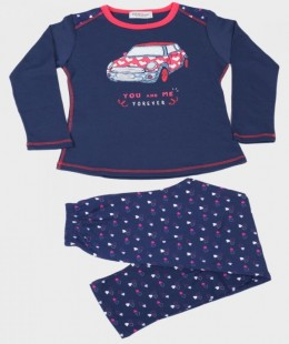 Girl Pajama Set 2 Pieces By Massana Made In Spain