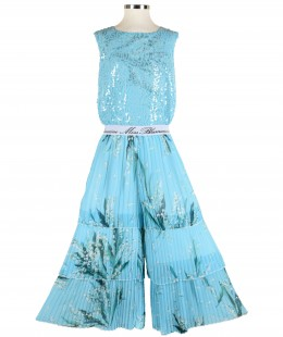 Girl Jumpsuit By Miss Blumarine Made In Italy