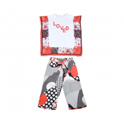Girl Set 2 Pieces Made In Italy ( To Know Available Model Sizes and Request Please Contact Us WhatsApp 00966550520411 )