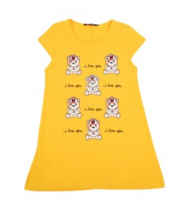 Girl Long Length T-Shirt Made In Italy