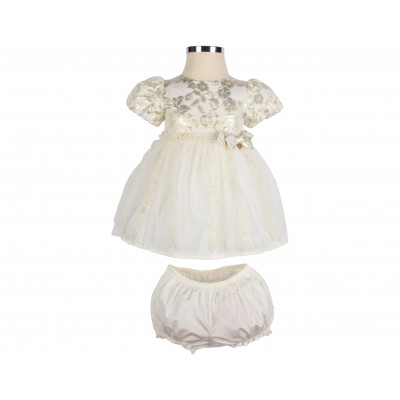 Baby Dress Set 2 Pieces Made In Italy