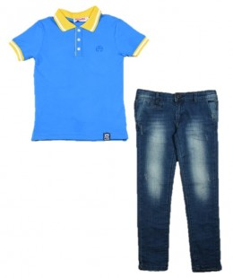 Boys Set 2 Pieces Made In Italy ( To know available model sizes and request please contact us whatsApp 00966550520411 )