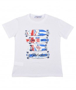 Boys T-Shirt by Polo Club Made In Italy