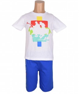 Boys Set 2 Pieces By PoloClub Made In Italy