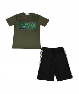Boys Set 2 Pieces by Polo Club Made In Italy