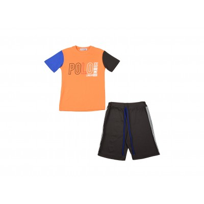 Boys Set 2 Pieces By Poloclub Made In Italy ( To know available model sizes and request please contact us whatsApp 00966550520411 )
