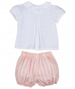 Baby Girl Set 2 Pieces Made In Spain