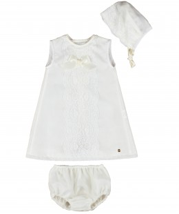 Baby Dress Set 3 Pieces Made In Spain